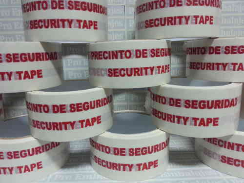 Cinta de embalar PREIMPRESA - SECURITY TAPE