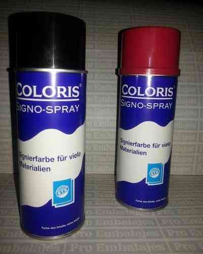 Spray / Aerosol Coloris-1 NEGRO 400 ml.