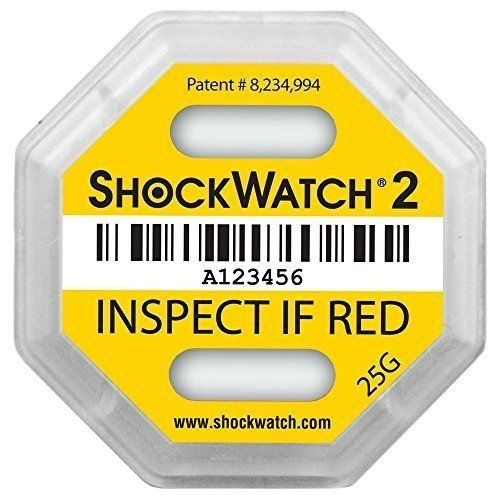 SHOCKWATCH 2 25G - Indicador de golpe - amarillo