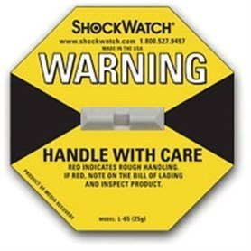 SHOCKWATCH 1 25G - Indicador de golpe - amarillo